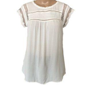 Daniel Rainn Shirttail Tie Back Tunic - Size XL